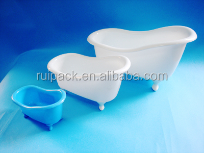 Plastic Novelty Containers Plastic Bathtub Shaped Bath