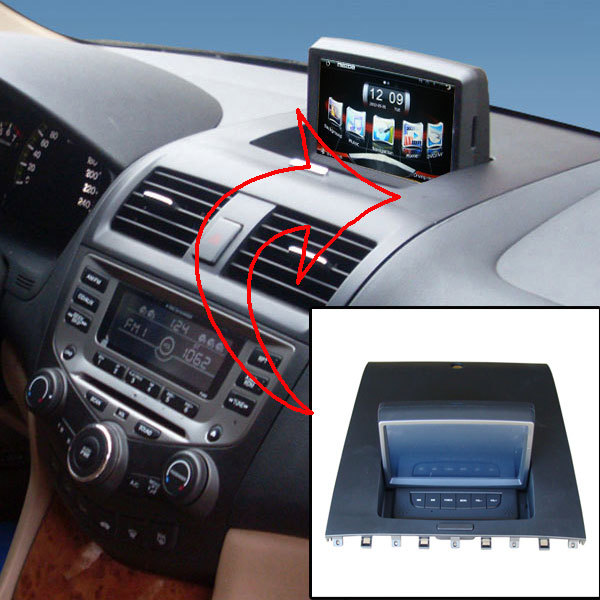 """Car audio for Honda Accord car video for Accord 2003-2007 with 7""""touch screen,GPS,DVR,BT,USB.PIP.Free 8G USB,8G SD"""