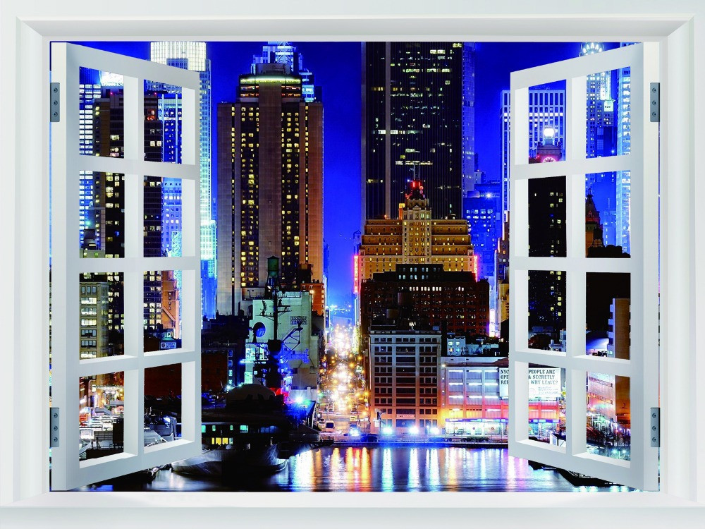 Free Shipping Home Decor Wall Sticker New York City
