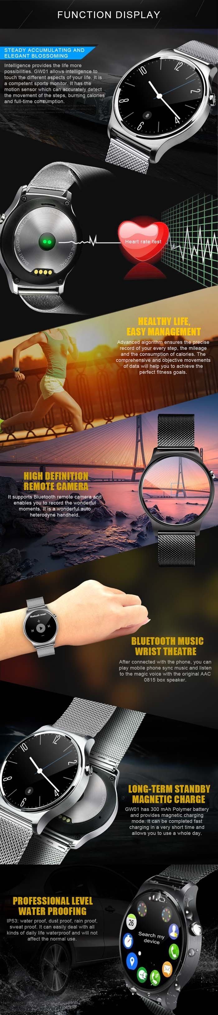 GW01 Smart Watch