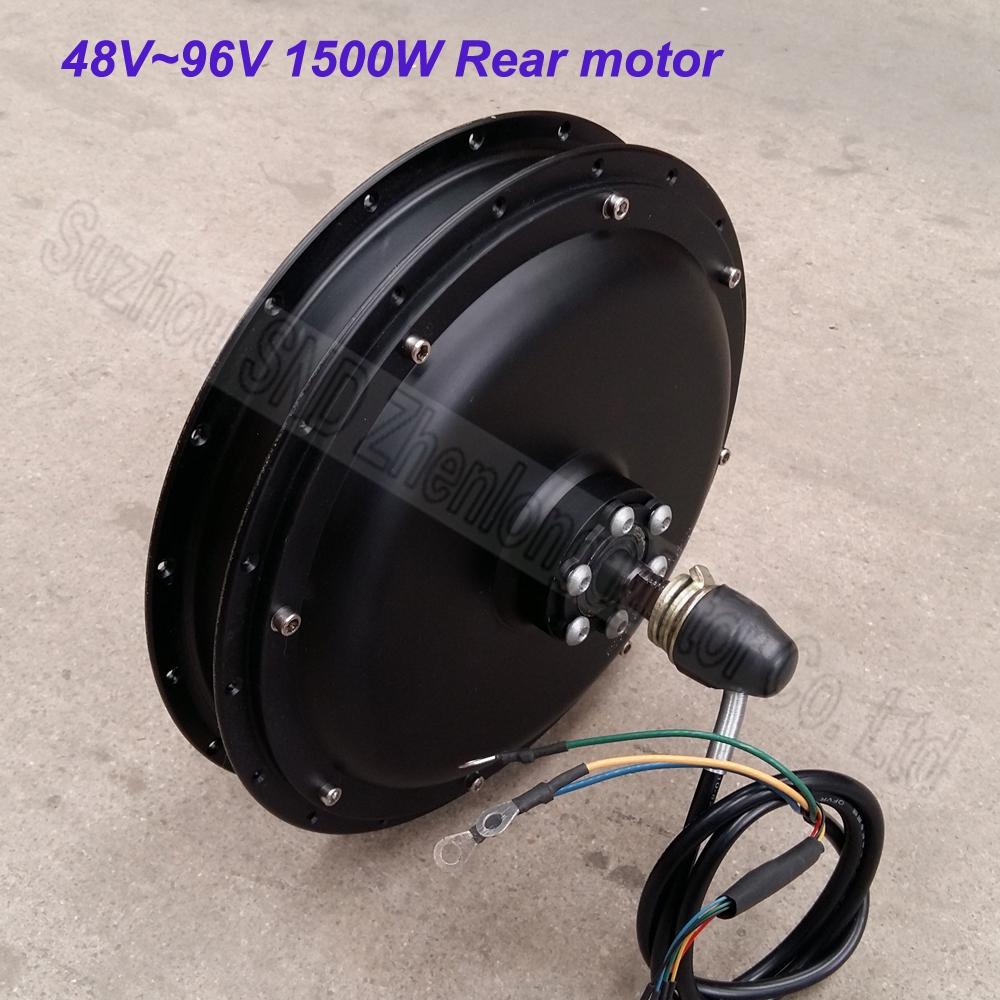 Aliexpress.com : 1500 watt 48V60v Kundenspezifische hinten