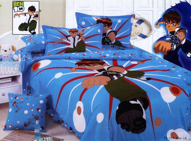 Ben 10 Baby Bedding Set Twin Full Queen Size Cartoon For