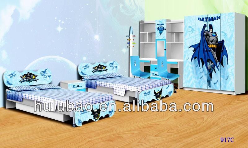 Hot sale spiderman batman kids furniture kids bedroom - Cheap childrens furniture sets bedroom ...