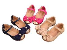 Holčičí princeznovské sandálky s mašličkou z Aliexpress