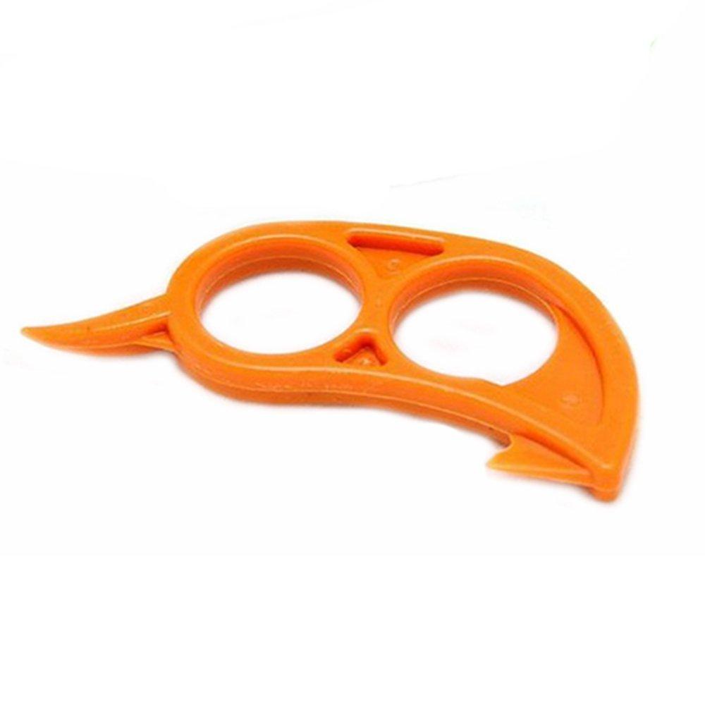 Лимон Оранжевый Цитрусовые Пластиковые Легкий Slicer Cutter Овощечистка Remover Открывалка