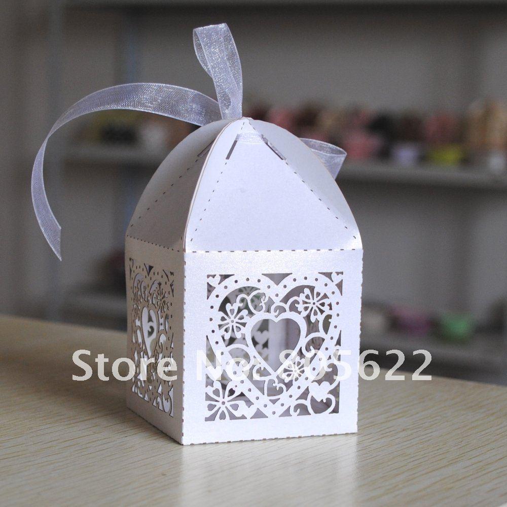 Most Popular Wedding Gifts: Most Popular Hearts Design Laser Cut Wedding Favor Wedding