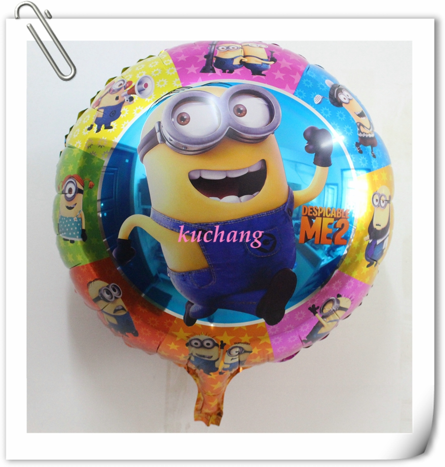 High-quality-10pcs-18-Two-eyes-despicable-me-balloon
