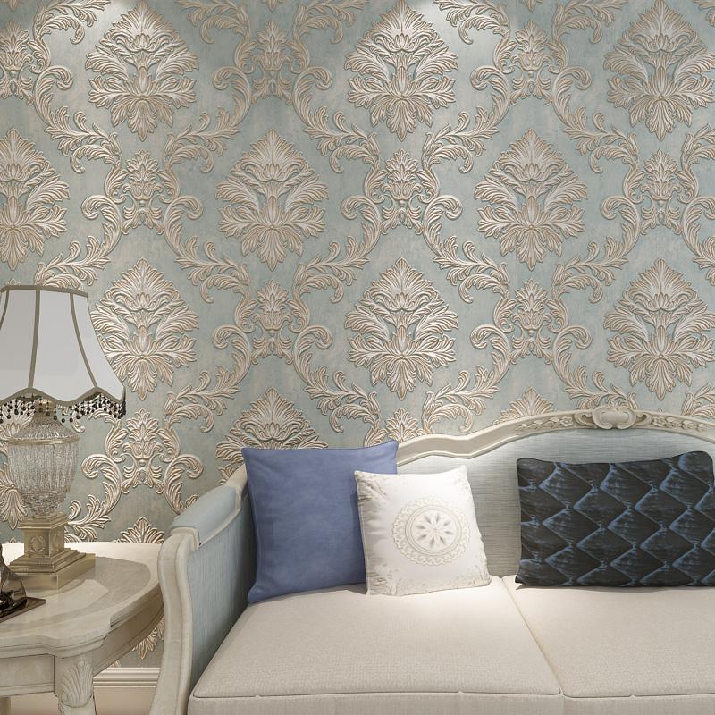 European Style Wallpaper for Walls 3 d Vintage Wallpaper | z ...