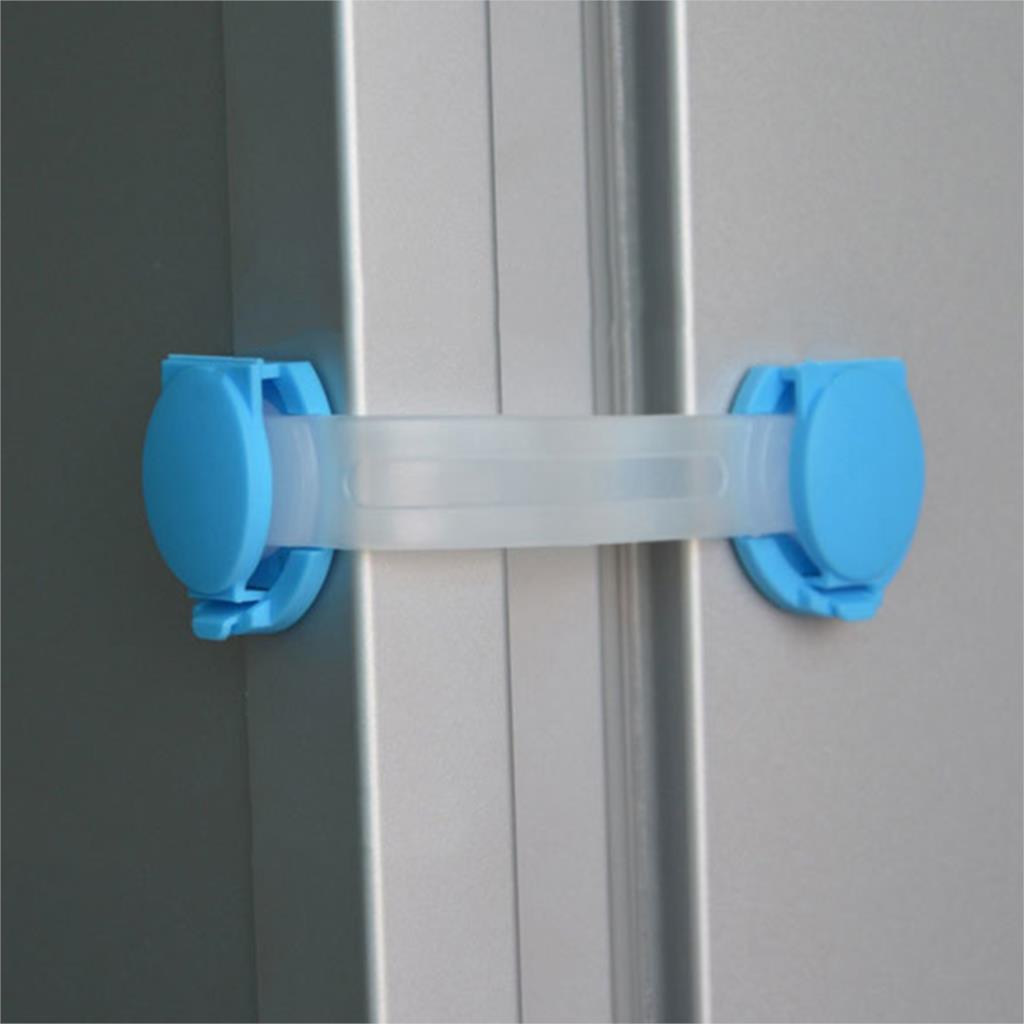 1 шт. безопасность детей детские пластиковые бенди двери ящика холодильник шкаф кабинет безопасности замки ремни