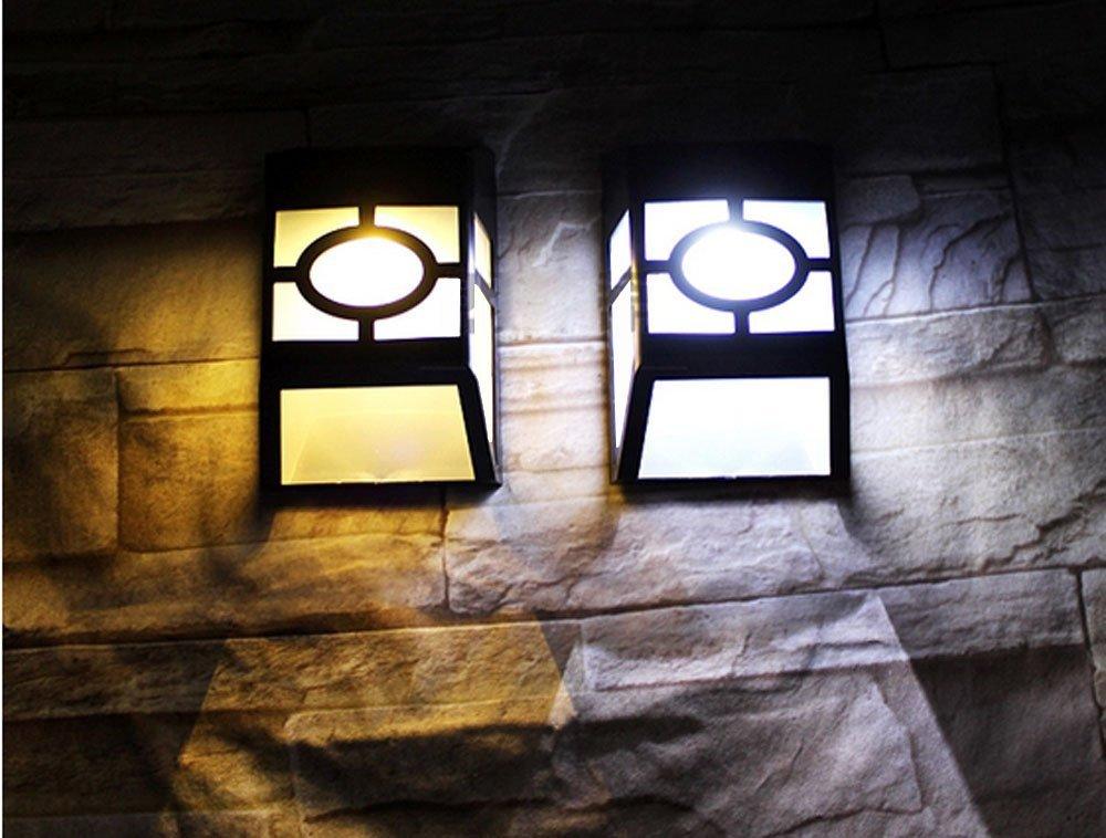 GoesWell USA Stock LED Solar Garden Light Lantern White