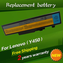 9cells Laptop Battery For Lenovo IdeaPad Y450 Y450A Y550 Y550A Y450G Y550P 55Y2054 L08L6D13 L08O6D13 L08S6D13 6600MAH 11.1V