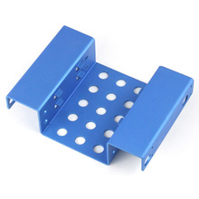 5.25″ to 2.5″ SSD Hard Disk Drive Mount Bracket 2-Bay Aluminum Hdd Rack free shipping