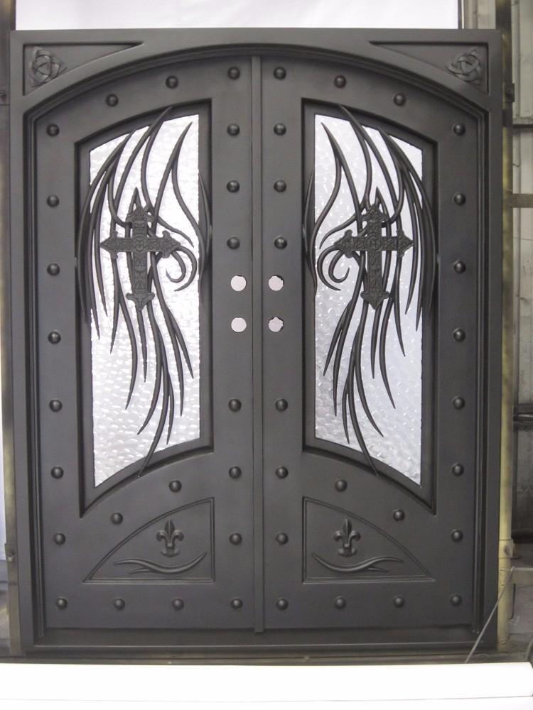 Fotos de dise os de puertas de metal casa dise o - Puertas de metal para casas ...