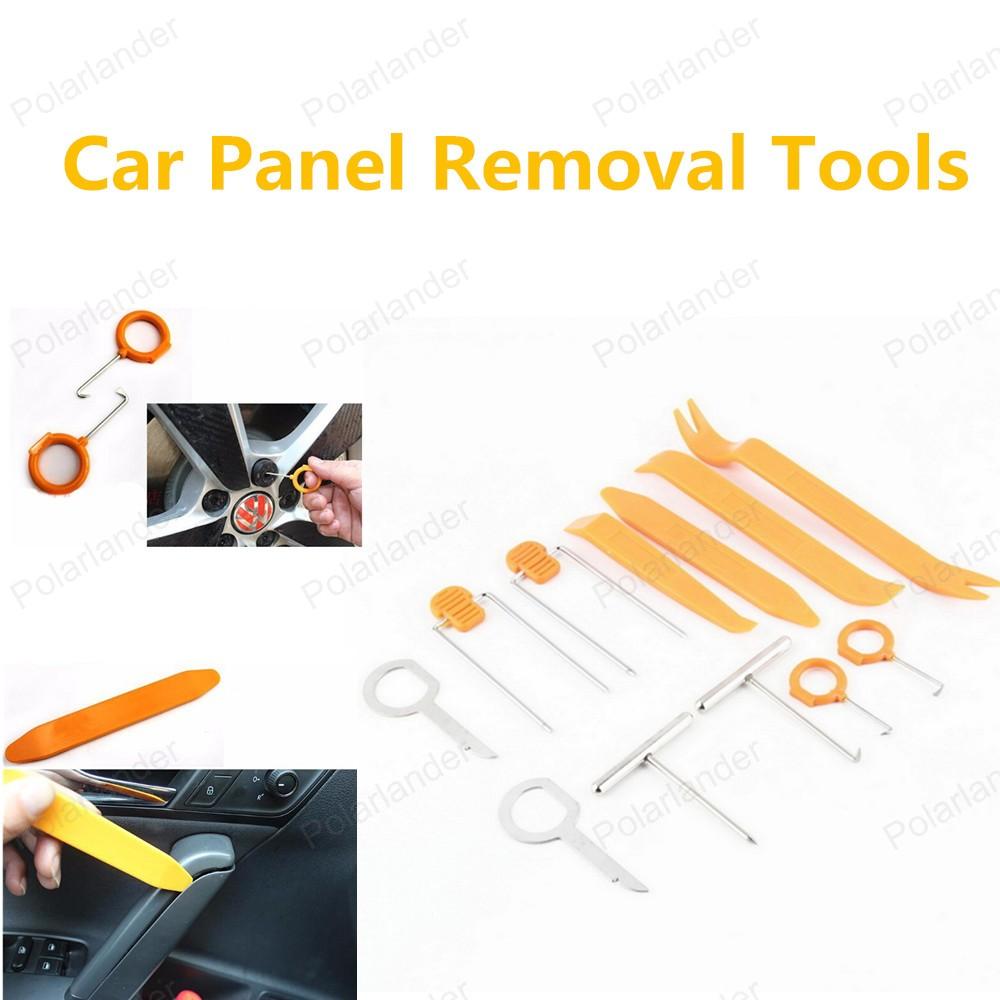 12 шт./компл. ремонт автомобилей комплект инструментов автомобиля средство для удаления панели комплект инструментов высокое качество