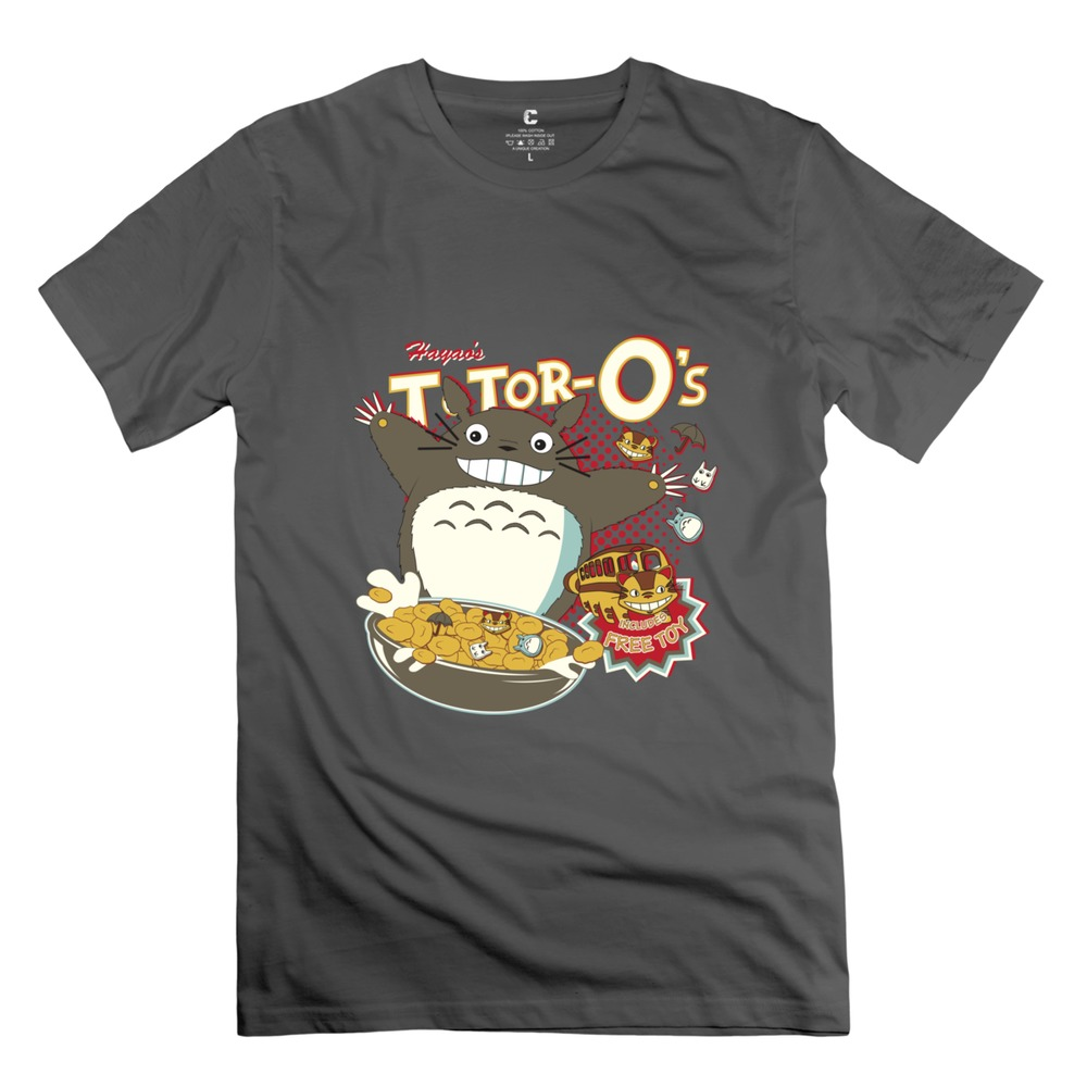 totoro Men T Shirt Cool American Style Clothing For man-in ...