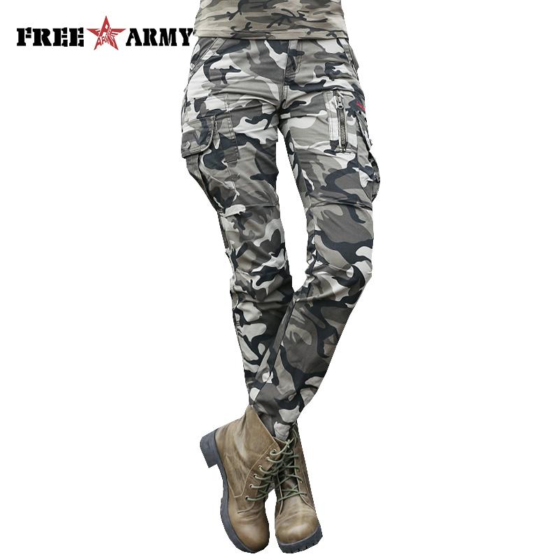 Ouekanlysian-Camouflaje-Pantalones -Holgados-de-Los-Hombres-Tácticos-Del-Ejército-Militar-Moda-Multi-Bolsillos- Pantalones-Hombre pantanones anchos camuflaje 073631d10369