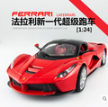 1 24 Bburago ENZO 458 F430 Original alloy car models Italian sports car Fast and Furious