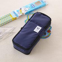 Большой Вместительный школьный чехол-карандаш и сумки в Корейском стиле, многофункциональная большая сумка-ручка для мальчиков и девочек, ...(Китай)