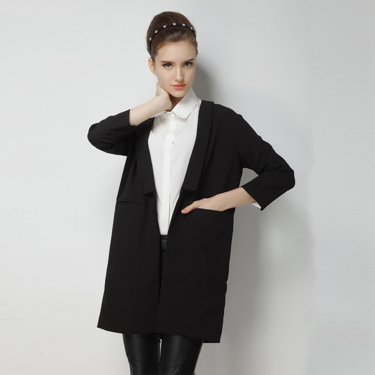 Longline Blazers. Longline Blazers. of oversized, classic black, fitted, waterfall or tailored styles and team with a pair of knee-high boots, jeans and a long sleeved top. Get shopping and don't miss out on the amazing deals exclusively from Missguided. Black Boyfriend Blazer more colors + $