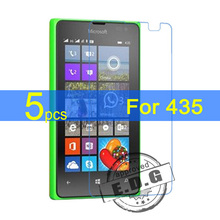 50pcs Ultra Clear LCD Screen Protector Film Cover For Microsoft Nokia Lumia 435 532 Protectiv Film  +  cloth