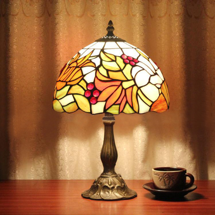 Popular Stained Glass Lamp Shade Patterns Buy Cheap