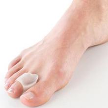 1 par joanete Toe separador pé ferramenta de cuidados Gel hálux valgo correção separadores valgo Pro macas óssea protetor de polegar