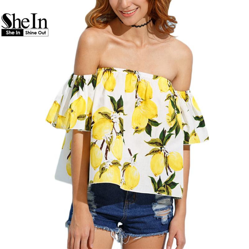 Compra señoras blusas amarillas online al por mayor de
