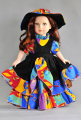 Popular 18 inch girl doll clothes and accessories lovely AMERICAN PRINCESS doll dress and hat for