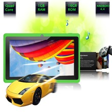 """BDF 7 """" Android Tablet PC Google A33 Quad-Core 1G-16GB Bluetooth WiFi FlashTablet PC Have Dual Camera  1GB 16GB pink tablets"""