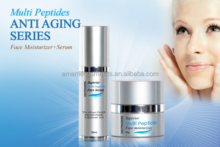 Facial aging products