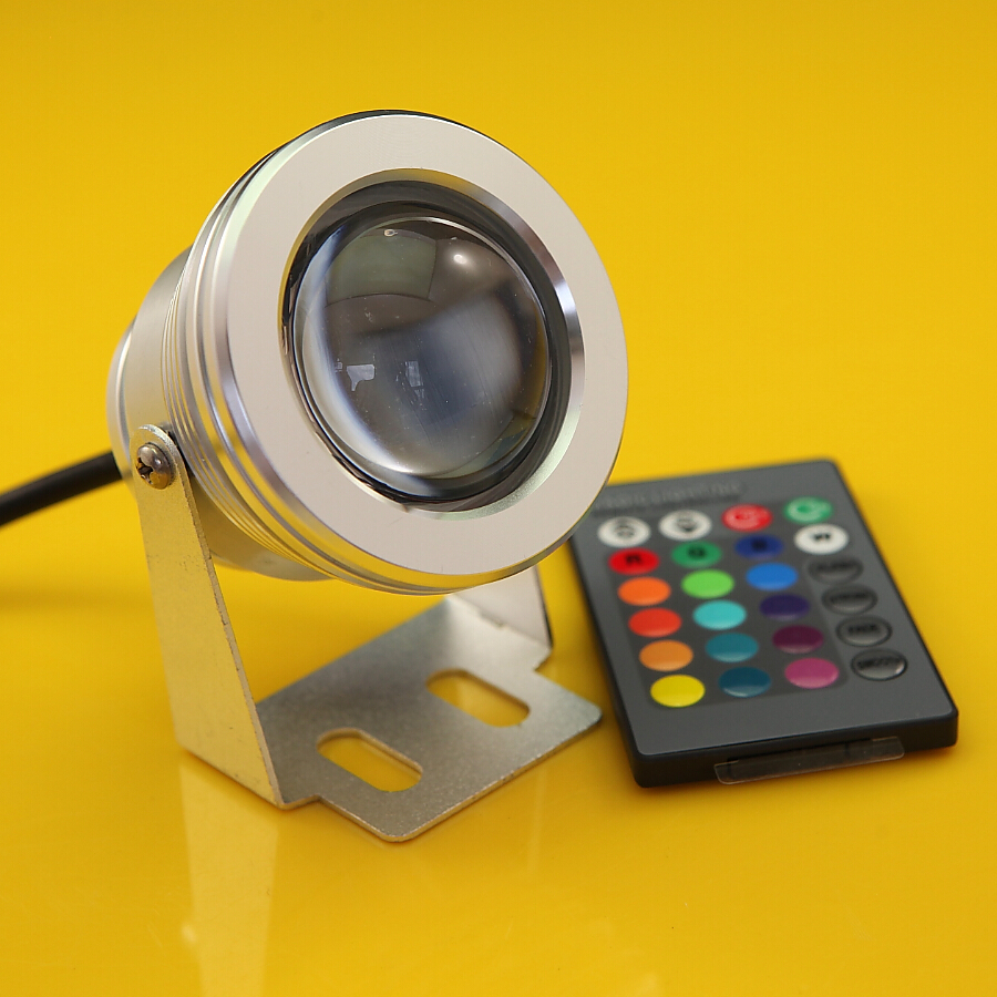 high quality 10w led underwater light waterproof ip68 rgb. Black Bedroom Furniture Sets. Home Design Ideas