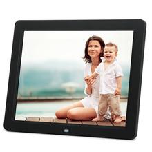 12 inch HD LED 800*600 Digital Photo Frame With Alarm Clock Calendar Slideshow Digital Frame MP3/4 Movie Player Digital Album