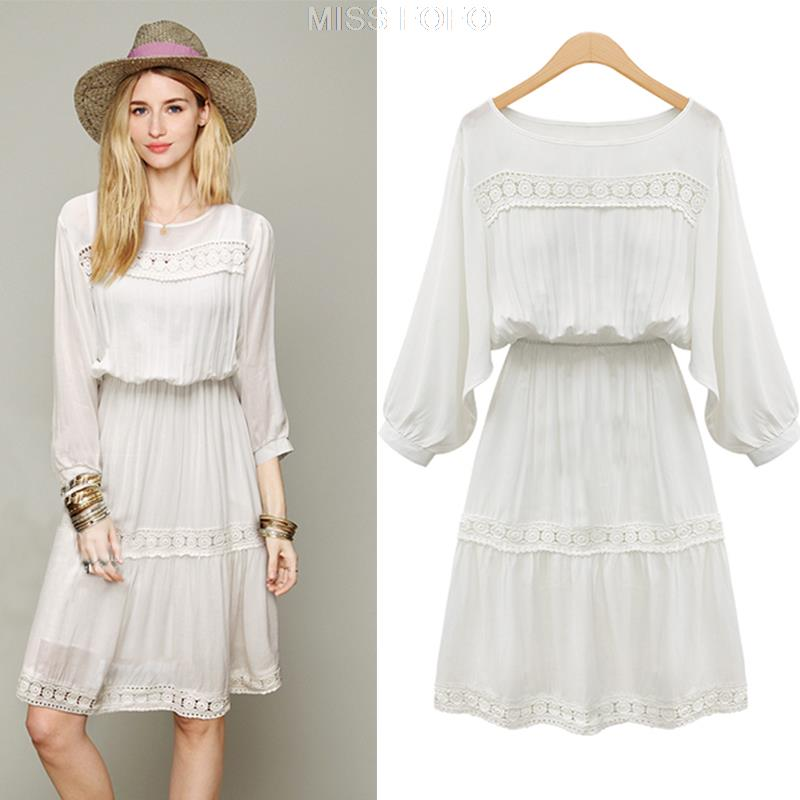 White Summer Dress With Sleeves | Good Dresses