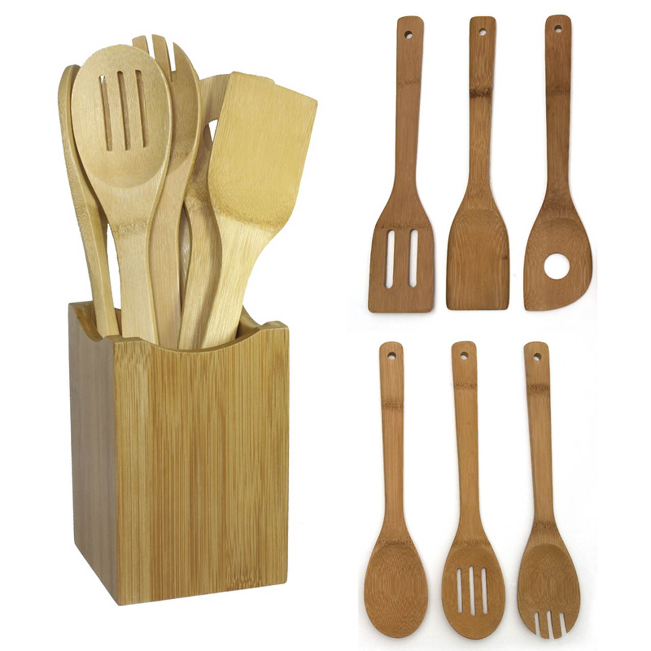 Online Buy Wholesale Bamboo Kitchen Utensils From China