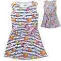 Summer girls SHOPKINS dress 2016 New Children Clothing Princess dresses kids clothes casual baby girls clothes
