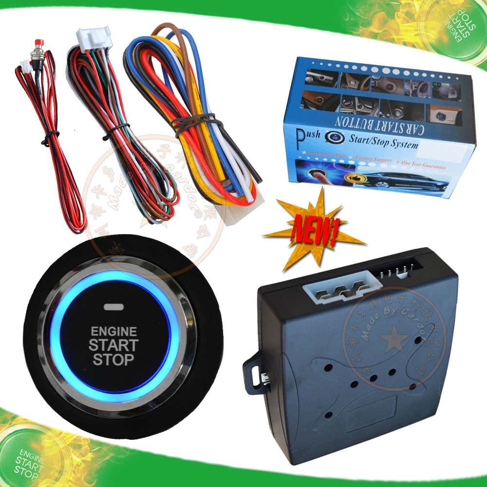 Universal Car Push Button Start And Remote Start System
