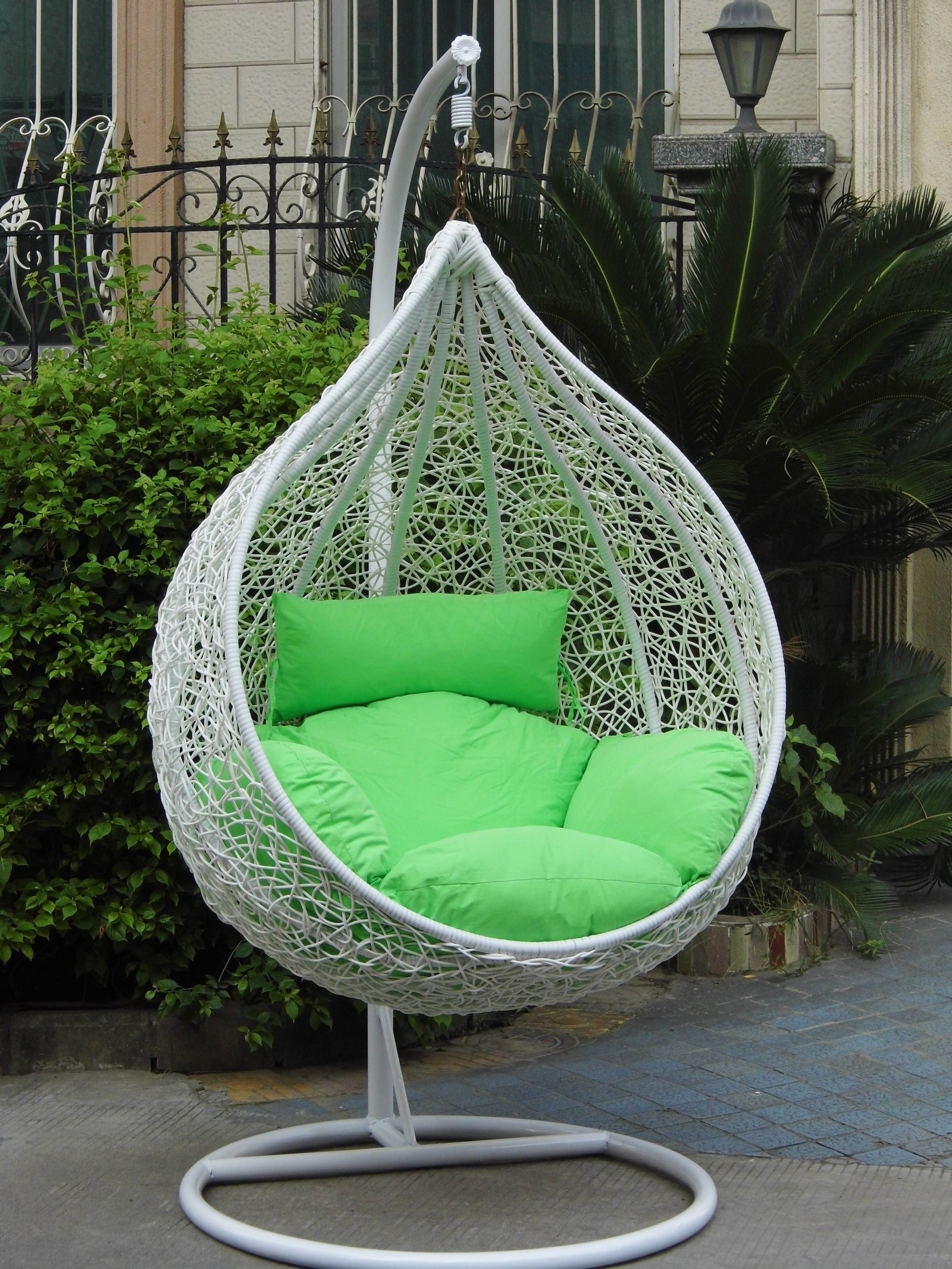 Outdoor Indoor Rattan Hanging Basket Hanging Chair Bird