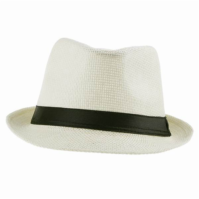 White Fedora Hat For Women images