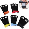 Pair Crossfit Grip Leather Palm Protectors Hand Guards Grips GYM Glove Pull up gymnastics grip Weight
