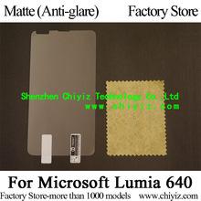 Matte Anti-glare Screen Protector Guard Cover protective Film For Microsoft Lumia 640 (5 inch)