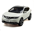 2015 New Nissan QASHQAI origin 1 18 car model alloy white luxury SUV kids toy collection
