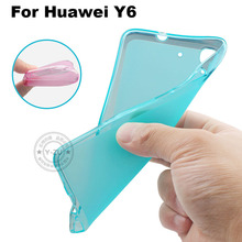 Huawei Y6 Case Cover Matte TPU Soft Back Cover Phone Case For Huawei Y6