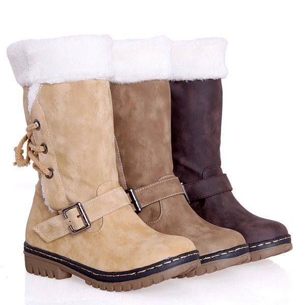 Free shipping autumn and winter retro fashion snow boots