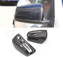 carbon fiber mirror cover for benz W204 W212 W221 exchange style full replacement carbon mirror