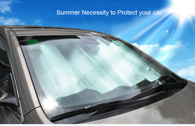 summer necessity car visor cover front window protective film sun shade solar uv protection. Black Bedroom Furniture Sets. Home Design Ideas