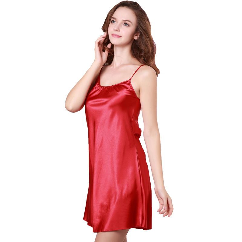 Luxurious Silk Nightgowns and Chemises for Women. Nothing looks quite so sexy while offering luxurious comfort as a silk nightgown or chemise. A must-have staple for your nightwear wardrobe, Julianna Rae's collection of silk nightgowns for women offers styles to suit every woman's taste.