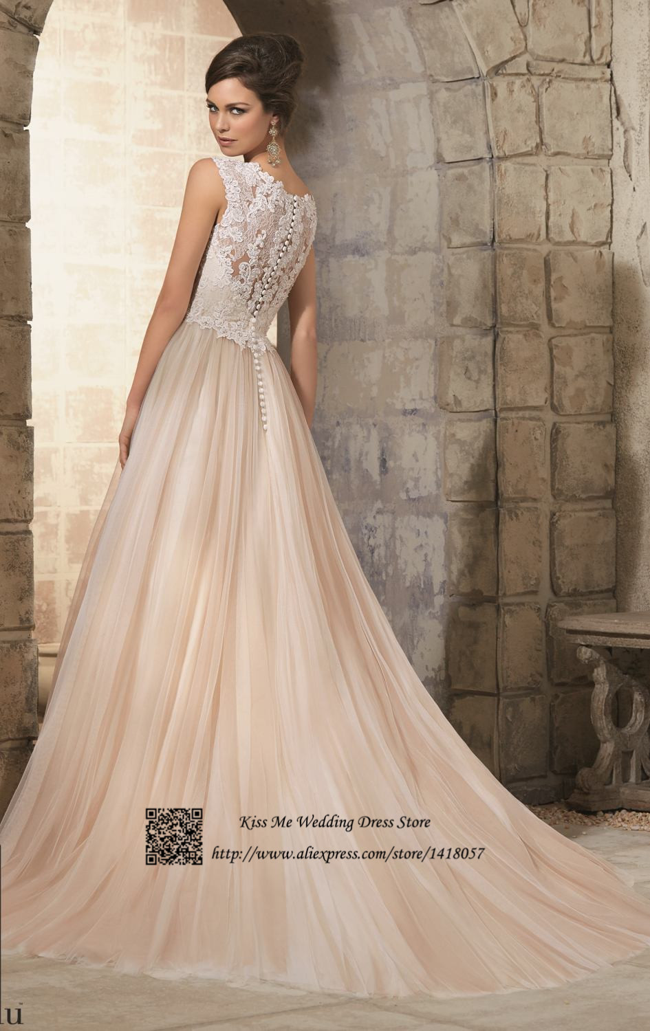 Luxury Wedding Dresses For Young Champagne Bridesmaid Dresses Sale