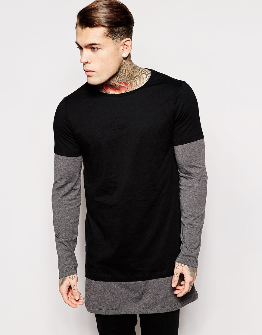 Shop the Latest Collection of Long Sleeve T-Shirts for Men Online at humorrmundiall.ga FREE SHIPPING AVAILABLE! Longer Length (2) Thermal (1) V-Neck (9) Sleeve Length Levi's® Men's Graphic-Print Long Sleeved T-Shirt.