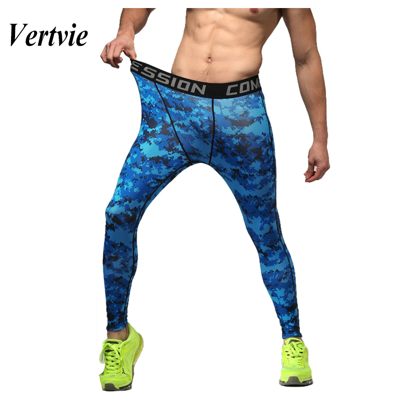 authentic a great variety of models top brands US $12.38 42% OFF|Vertvie Running Tights Men Fitness Leggins Men Print  Cycling Spandex Tights Compression Running Pants Running Sportswear Men  1pc-in ...