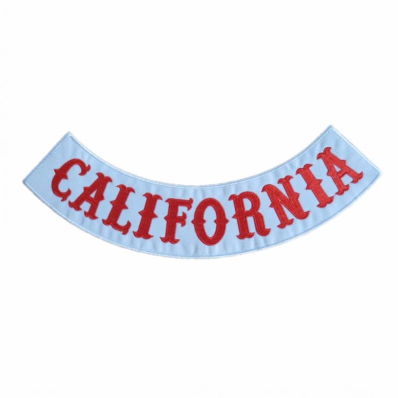 california patch hells angels bottom rocker embroidery. Black Bedroom Furniture Sets. Home Design Ideas
